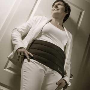 Slimcool-Waistbelt kuehlt direkt an der Problemzone Bauch
